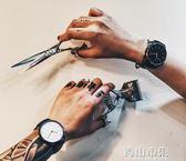 時尚潮流手錶女韓版簡約復古皮帶學生手錶男石英錶 青山市集