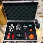 手提式工具箱鋁合金箱子家用證件儀器設備文件收納盒帶鎖中型 【快速出貨】YYJ