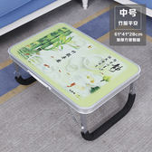 電腦桌筆電桌床上用可摺疊懶人宿舍寢室小桌子學習書桌簡約WY免運直出 交換禮物