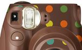 FUJIFILM instax mini 7s 拍立得專用 機身貼紙 裝飾貼紙 點點 咖啡色