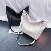 側背包 網紅側背大包包女2021新款潮韓版百搭大容量軟面斜背包時尚托特包 嬡孕哺 免運