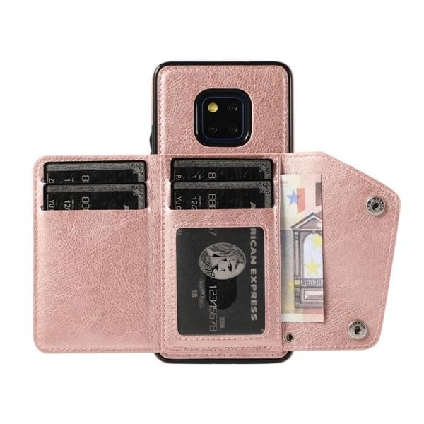 手機配件 華為mate20時尚錢包插卡卡包手機殼掛繩翻蓋真皮mate20 Pro保護殼手機殼 手機套 皮套