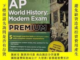 二手書博民逛書店Cracking罕見the AP World History: Modern ExamY201150 The