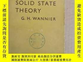 二手書博民逛書店elements罕見of solid state theory(P1338)Y173412