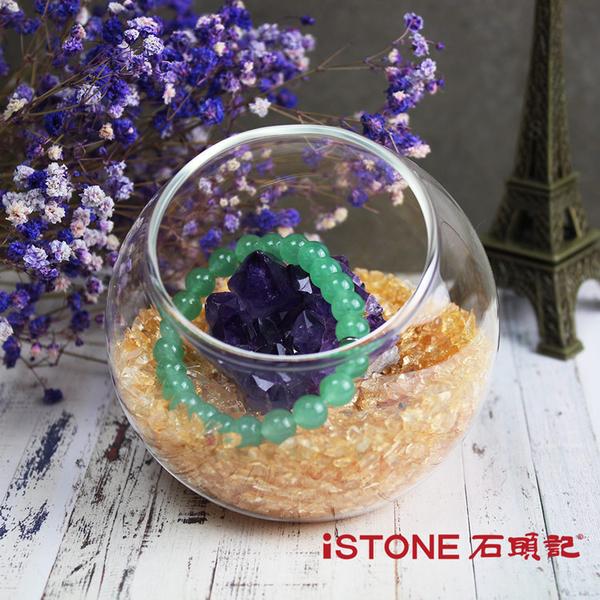 療癒星球 水晶淨化消磁球(天然水晶碎石) 辦公桌景觀擺飾 石頭記