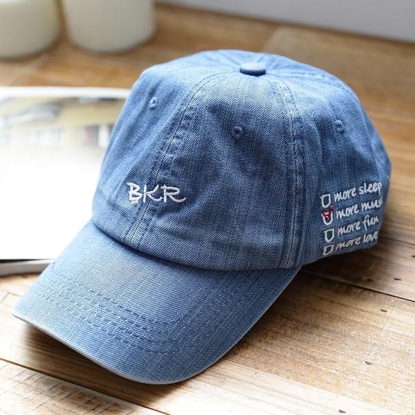 韓版潮時尚綉字牛仔帽 Only You 中大尺碼 中大尺碼  【A6027】