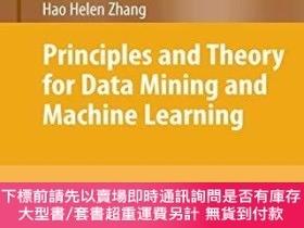 二手書博民逛書店Principles罕見And Theory For Data Mining And Machine Learni