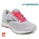 【BROOKS】女款避震型慢跑鞋 REVEL 2 -淺灰紅(811B028)-現貨/預購【全方位運動戶外館】