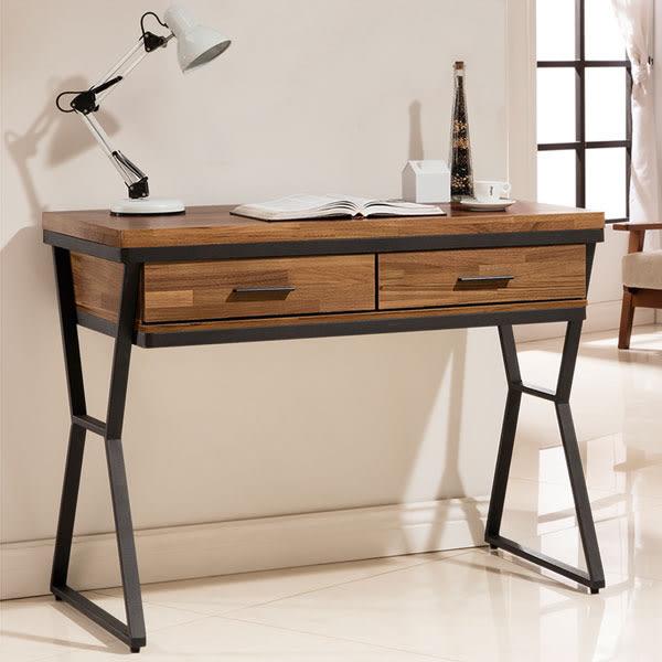 書桌《YoStyle》愛德琳工業風3.5尺書桌 電腦桌 工作桌 辦公桌 NB桌 免運專人配送到府
