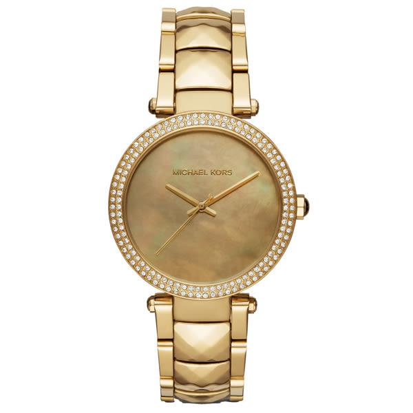 Michael Kors 晶燦耀眼晶鑽都會腕錶-MK6425