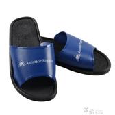 防靜電拖鞋靜電鞋子藍色無塵鞋男士女士夏季透氣工作鞋勞保鞋 道禾生活館