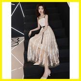 禮服裙女洋裝小禮服聚會高貴連身裙中長款
