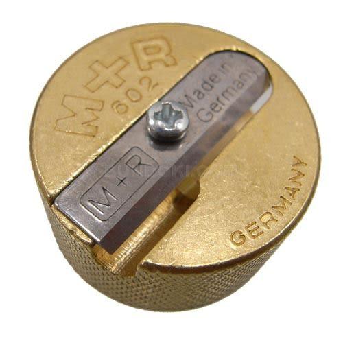 M+R銅製削筆器(2孔)