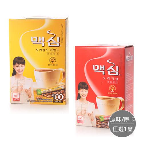 【韓國 Maxim】摩卡三合一咖啡隨身包 x1盒
