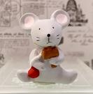 【震撼精品百貨】日本精品百貨~日本動物招財擺飾/陶瓷擺飾-鼠#46251