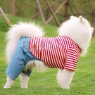 狗狗衣服中大型犬秋裝四腳衣大狗金毛薩摩耶拉布拉多衣服秋天薄款 雙十一全館免運