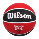 WILSON NBA隊徽系列 公牛隊橡膠籃球#7(訓練 室外 7號球「WTB1300XBCHI」≡排汗專家≡
