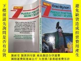 二手書博民逛書店Puzzle罕見for the secret seven神秘七號謎題Y212829