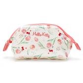 【震撼精品百貨】Hello Kitty 凱蒂貓~HELLO KITTY化妝包-花#71064