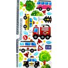 【收藏天地】創意生活*彩色裝飾壁貼-交通工具系列