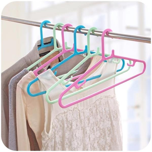 [超豐國際]成人防風衣掛架子衣架晾衣架家用衣柜無痕塑料衣服架掛衣架