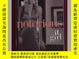 二手書博民逛書店英文原版罕見Notorious: An It Girl Nove