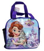 【卡漫城】 蘇菲亞 便當袋 紫 抱兔子 ㊣版 手提袋 拉鍊式 餐袋 迪士尼 小公主 Sofia 兔子Clover 水壺