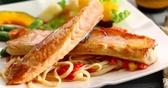 【禧福水產】挪威鮭魚肚條/腹肉條/特A級◇$特價180元/500g±10%/包◇最低價 肉質鮮美營養豐富 批發