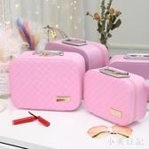 手提化妝品包箱大容量少女小號便攜韓國簡約隨身收納袋盒 js21589『小美日記』