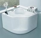 【麗室衛浴】BATHTUB WORLD 日式座 3-105A 壓克力扇形泡湯浴缸1050*1050*720mm