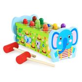 大號早教益智 1-2-3周歲嬰幼兒童男女孩寶寶打地鼠游戲機敲打玩具 igo