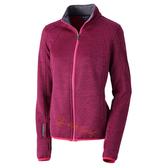 【速捷戶外】台灣Wildland 荒野 0A32605-14櫻紅色 女 麻花輕量保暖外套
