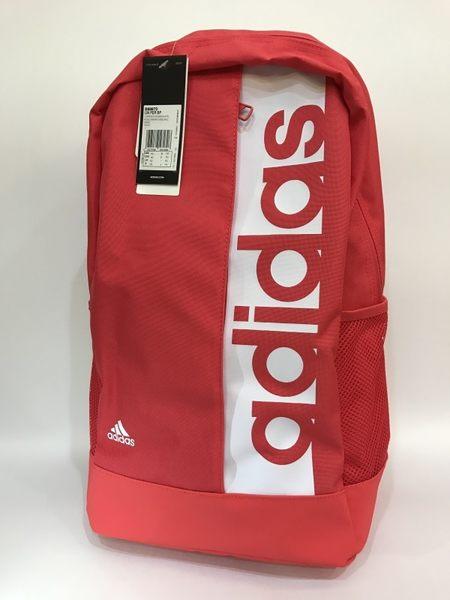 ADIDAS 大字系列輕量後背包 粉紅 S99970
