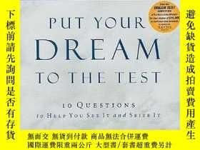 二手書博民逛書店Put罕見Your Dream To The TestY256260 John C. Maxwell Thom