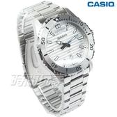 CASIO卡西歐 MTD-1087D-7A 經典再現仿黑水鬼造型設計休閒男錶 防水手錶 銀白 MTD-1087D-7AVDF