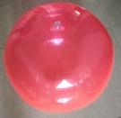 [衣林時尚] 全透明紅沙灘球(充氣後直徑...