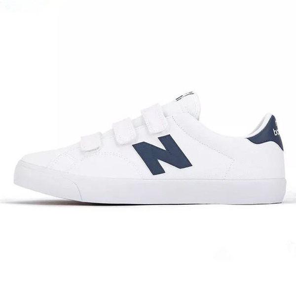 New Balance 210 男鞋 女鞋 休閒 復古 魔鬼氈 帆布 白 藍【運動世界】AM210VWB