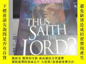 二手書博民逛書店Thus罕見Saith The Lord: How to kno