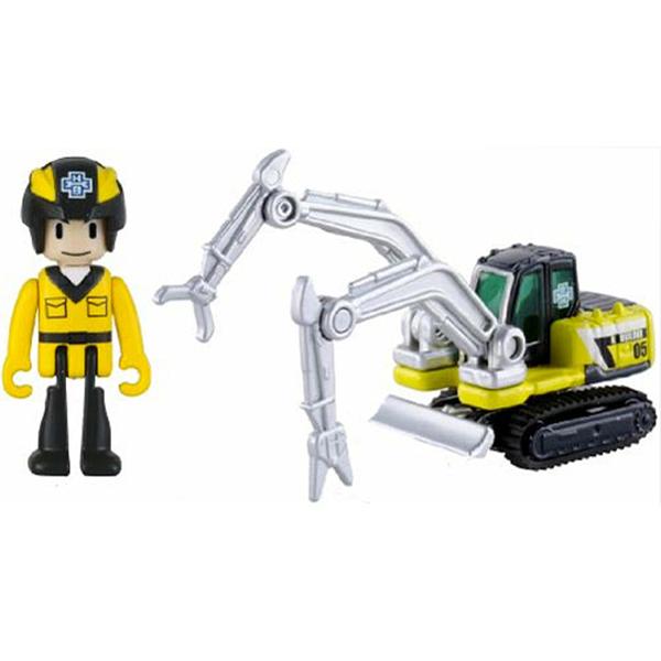 TOMICA 緊急救援隊 HB05 工程雙臂車(附人偶) TM45019