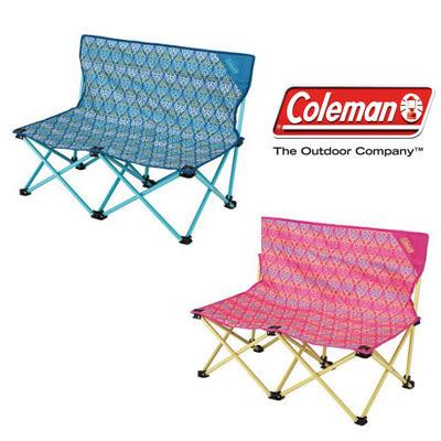 [Coleman] 藍、紅葉圖騰情人椅 (CM-22002、CM-22003)