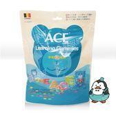 311901#ACE 藍色 字母Q軟糖 240g#無糖粉
