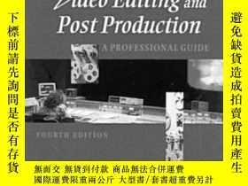 二手書博民逛書店Video罕見Editing And Post Production: A Professional Guide-
