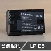 【一年保固】 CANON LP-E6N LP-E6 LPE6A 台灣世訊 副廠鋰電池 日製電芯 7DII 5D 80D