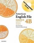 二手書博民逛書店 《American English File MultiPACK 4B》 R2Y ISBN:0194774732│Oxenden