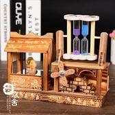 音樂盒 - 木質跳舞八音盒旋轉【韓衣舍】