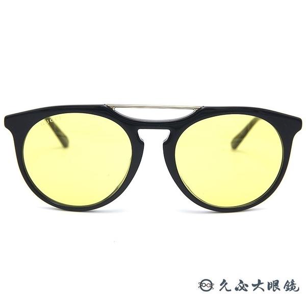 GUCCI 墨鏡 GG0320S 002 (黑金) 雙槓 太陽眼鏡 久必大眼鏡