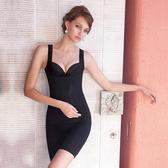 【曼黛瑪璉】美型顯瘦 寬肩帶V領背心S-XL (黑)(未滿2件恕無法出貨,退貨需整筆退)