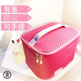 店長推薦 化妝包收納包大容量立體式多功能特大號小方包學生可愛簡約女款袋