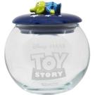 SUNART 透明玻璃置物罐 迪士尼 慵懶三眼怪_NR25129
