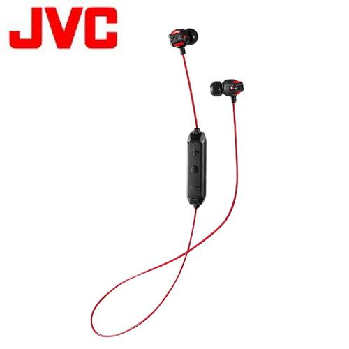 JVC 耳道式無線藍牙耳麥 HA-FX101BT-R 紅色